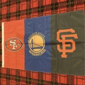 Brand new San Francisco Area Teams banner flag